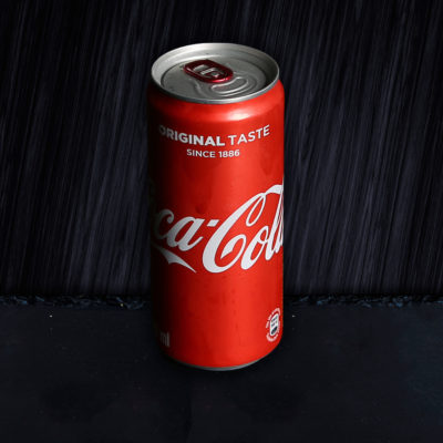 Coke Soft Drink Can