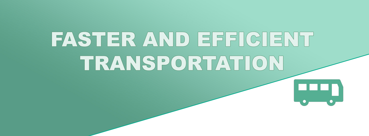 CV @Faster and Efficient Transportation