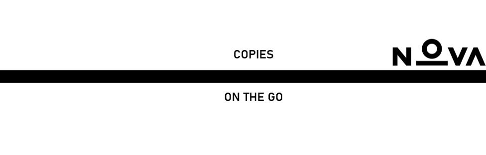 Copies On The Go