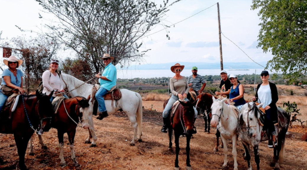 Horseback Riding in Lake Chapala, Jalisco, Mexico