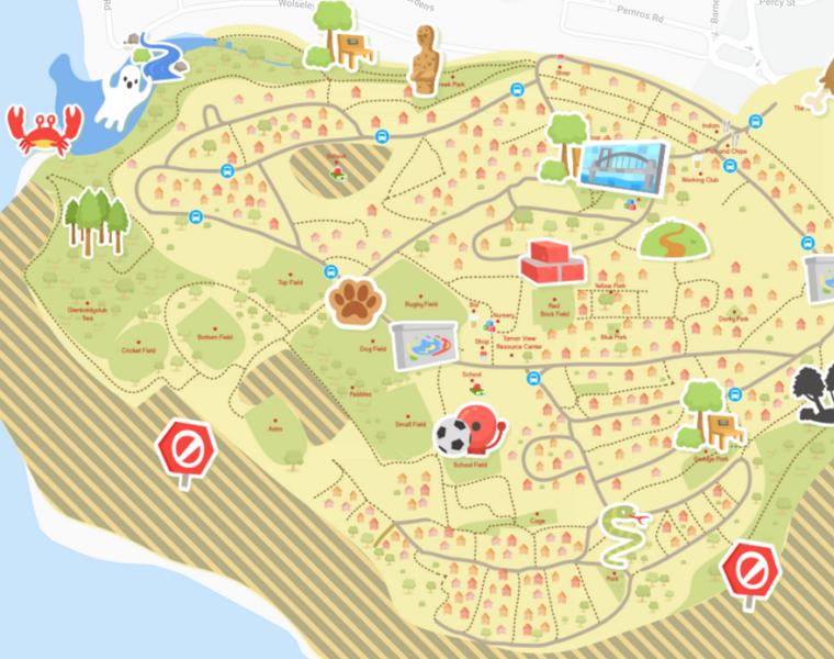 Barne Barton Digital Map