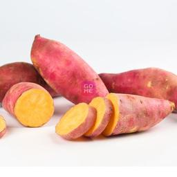 A64 : ORANGE SWEET POTATO ( KELEDEK) 1 KG