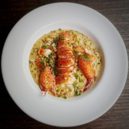 Half Butter Poached Boston Lobster Risotto