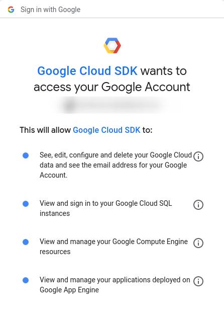 Configuracion de Google Cloud
