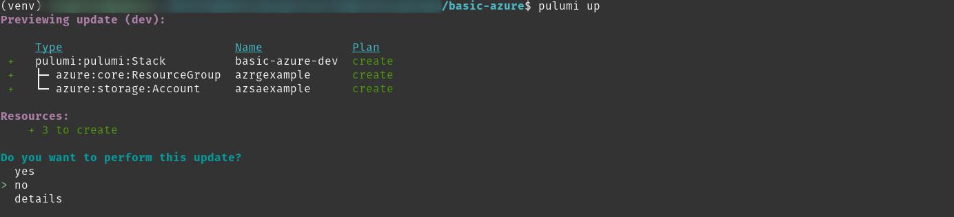 pulumi-up-basic
