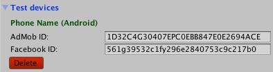 Window>Tapdaq>Edit Settings
