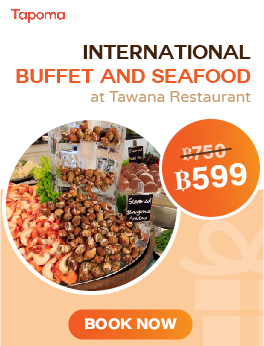 International Buffet and Seafood at Tawana Restaurant
