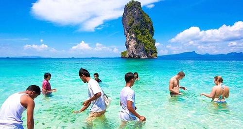 Krabi 4 Islands (by long tail boat)