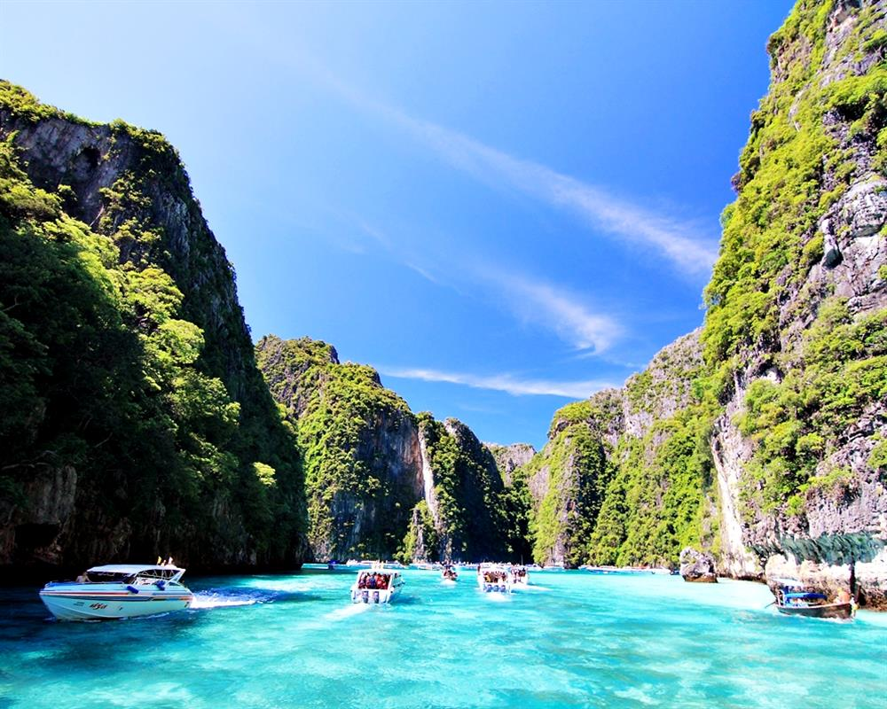 Luxury Phi Phi Island Maya Khai Island Tour (Full Day) by Speedboat