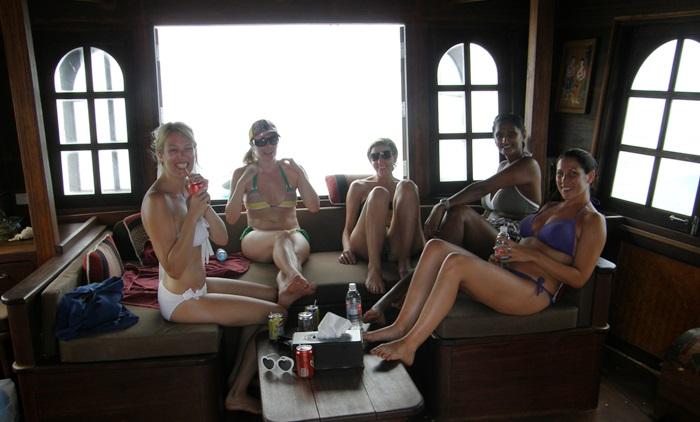 Koh Phangan Chantara Junk Boat Tour