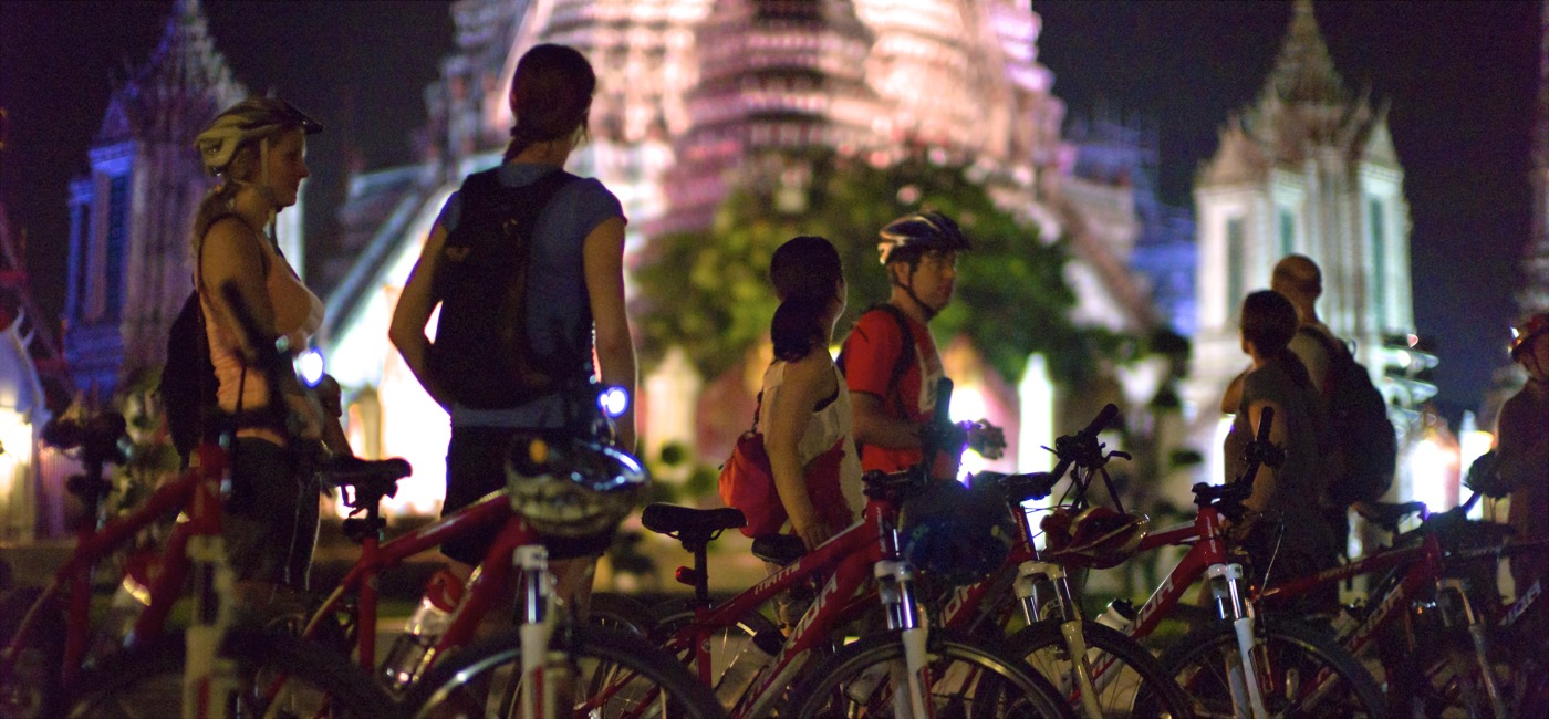 Rattanakosin Island Sunset Cycling Tour