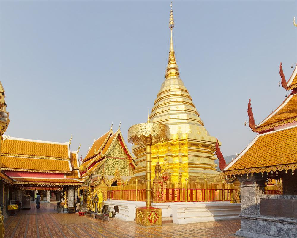 Chiang Mai City and Temples+Wat Doi Suthep