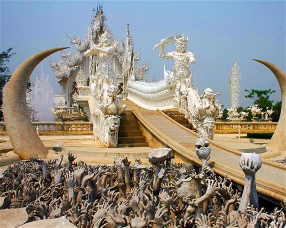 Chiang Rai Black & White Tour Full Day : Depart from Chiang Mai (Private Tour)