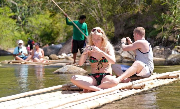 Khao Lak Safari Bamboo Rafting and Elephant Riding Tour