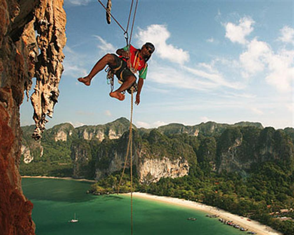 Morning Half Day Rock Climbing Tours At Railay Beach 9 00 13