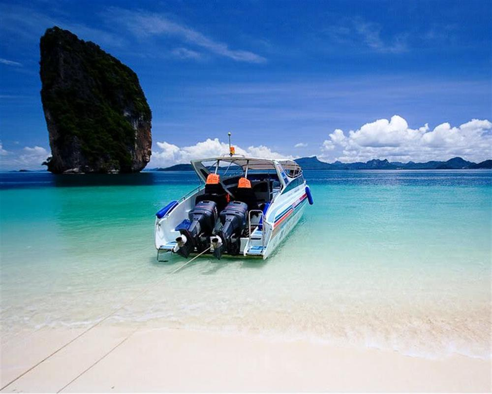 Krabi 4 Islands Tour by Speed Boat