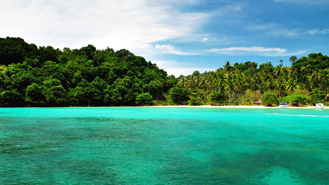 Phi Phi Island Deluxe Plus 4 Island by Speed Boat
