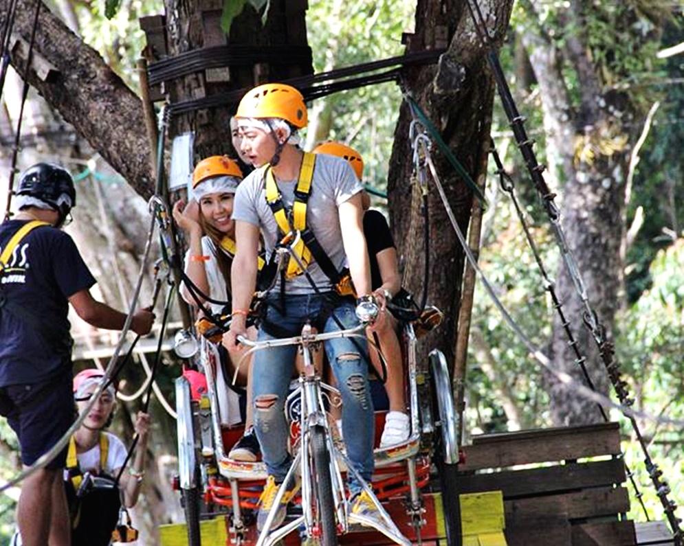 Pong Yang Zipline & Jungle Coaster