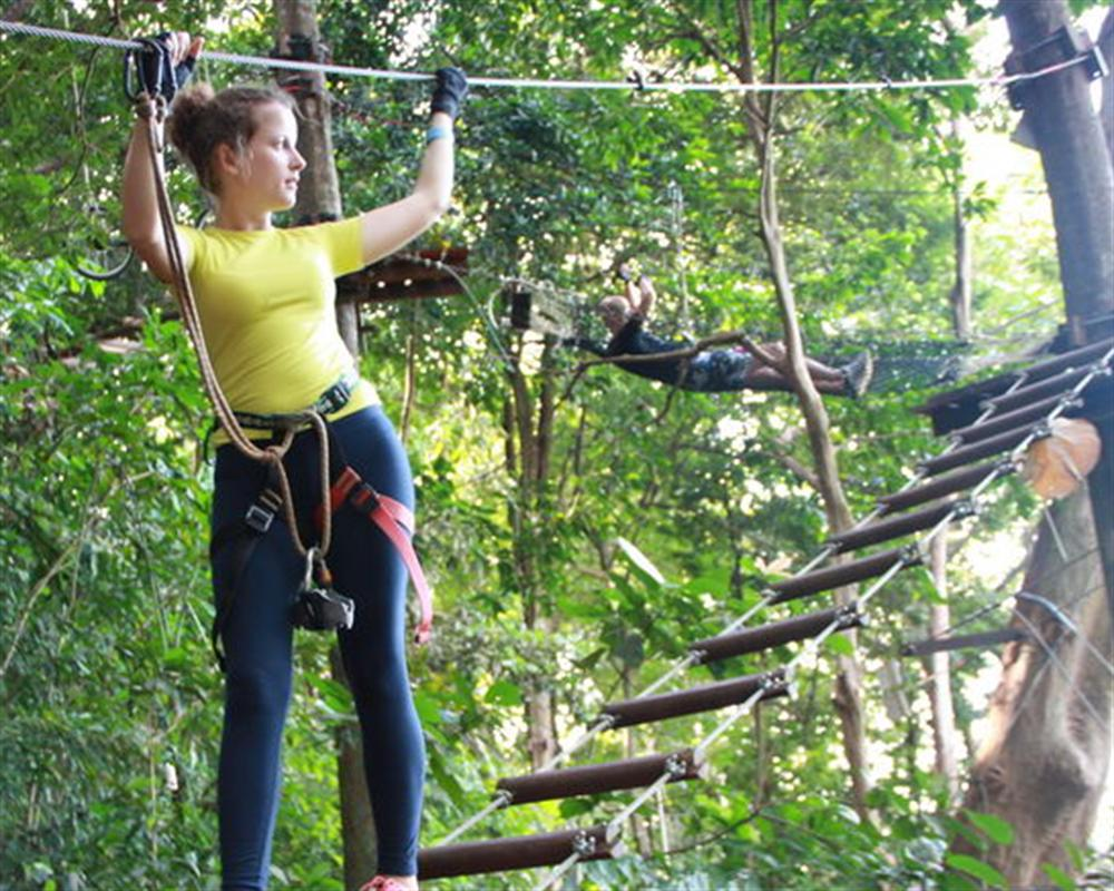 Tree Top Adventure Park Koh Chang
