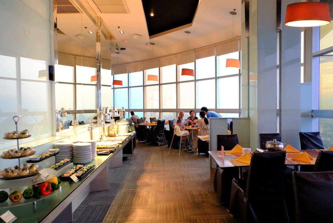 Crystal Grill Restaurant at Baiyoke Sky Hotel