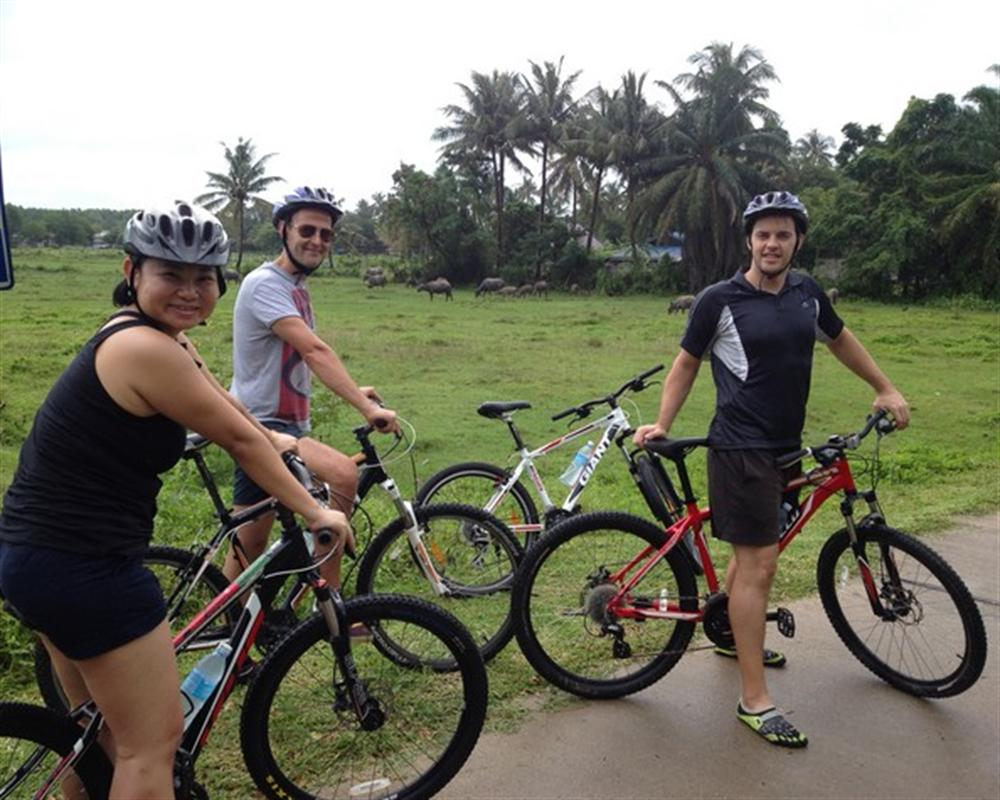 Half Day Cycling at Koh Klang Village