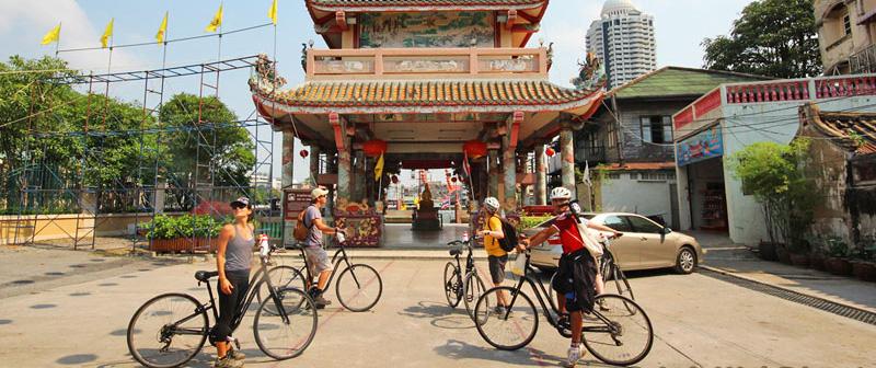 Chinatown & Thonburi Cycling Tour