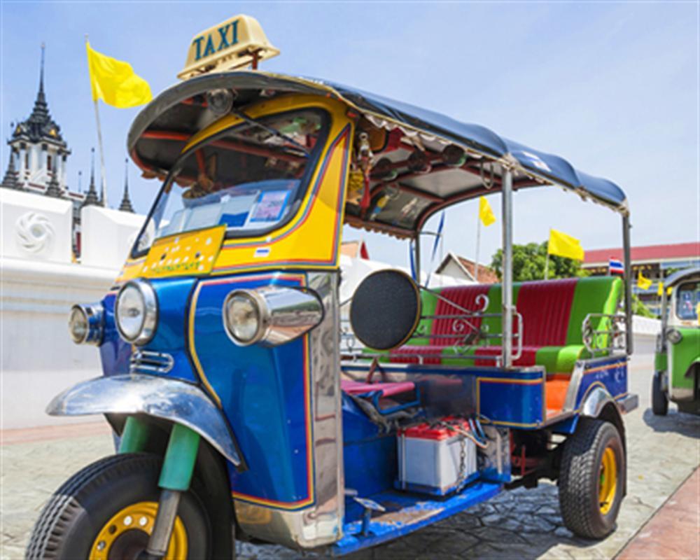 City Tour by MRT - Mass Rapid transit, Boat and Tuk Tuk