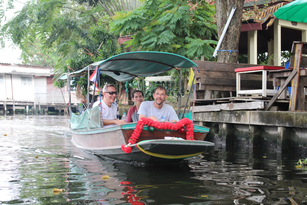 Cycling Tour with Long-tail Boat Ride and Cooking Activity