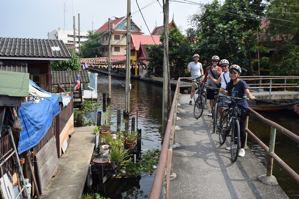 Exploration of the Other Side of the City through Cycling