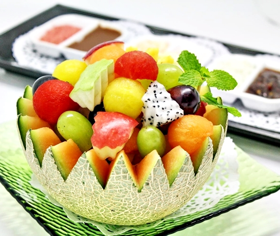 Fruit Buffet at Baiyoke Sky Hotel Bangkok