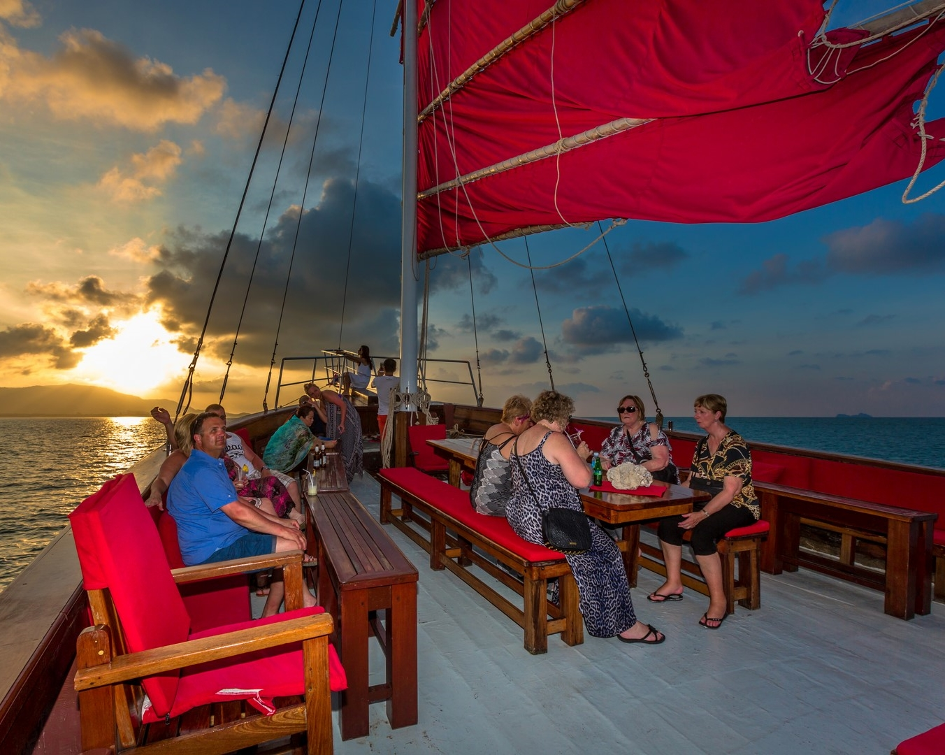 Koh Samui Sunset Dinner Cruise by Red Baron