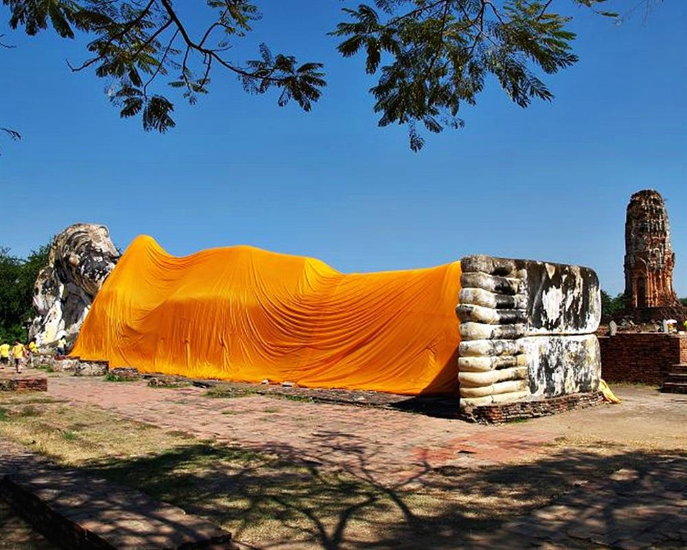 Ayutthaya Tour by White Orchid River Cruise