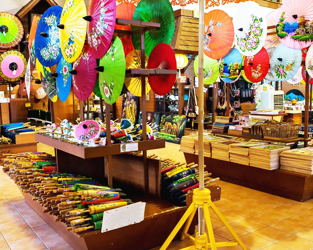 Hot Spring and Handicraft Village Tour