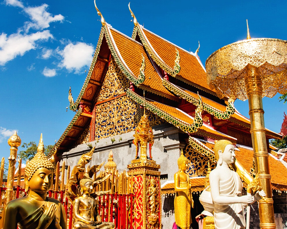 Wat Phra That Doi Suthep Phuping Palace Chiang Mai