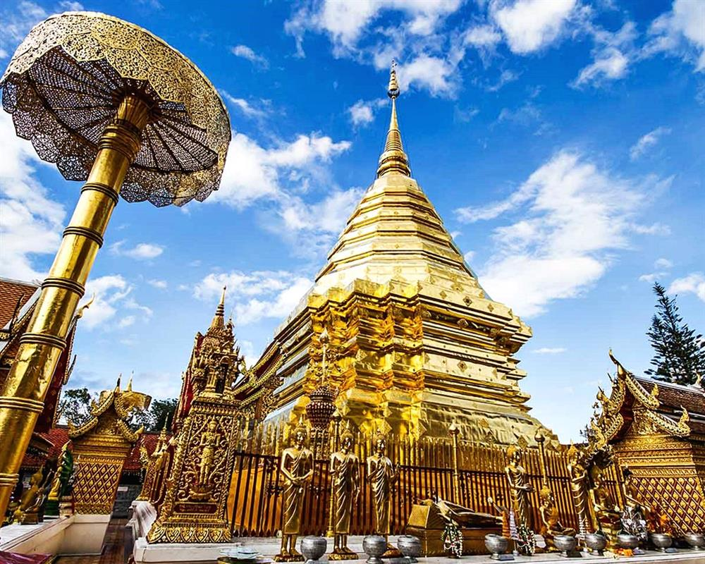 Doi Suthep Temple & Phuping Palace Tour (Half Day Private Tour)