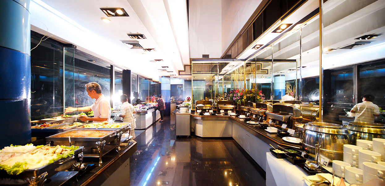 International Buffet and Seafood at Baiyoke Suite Hotel