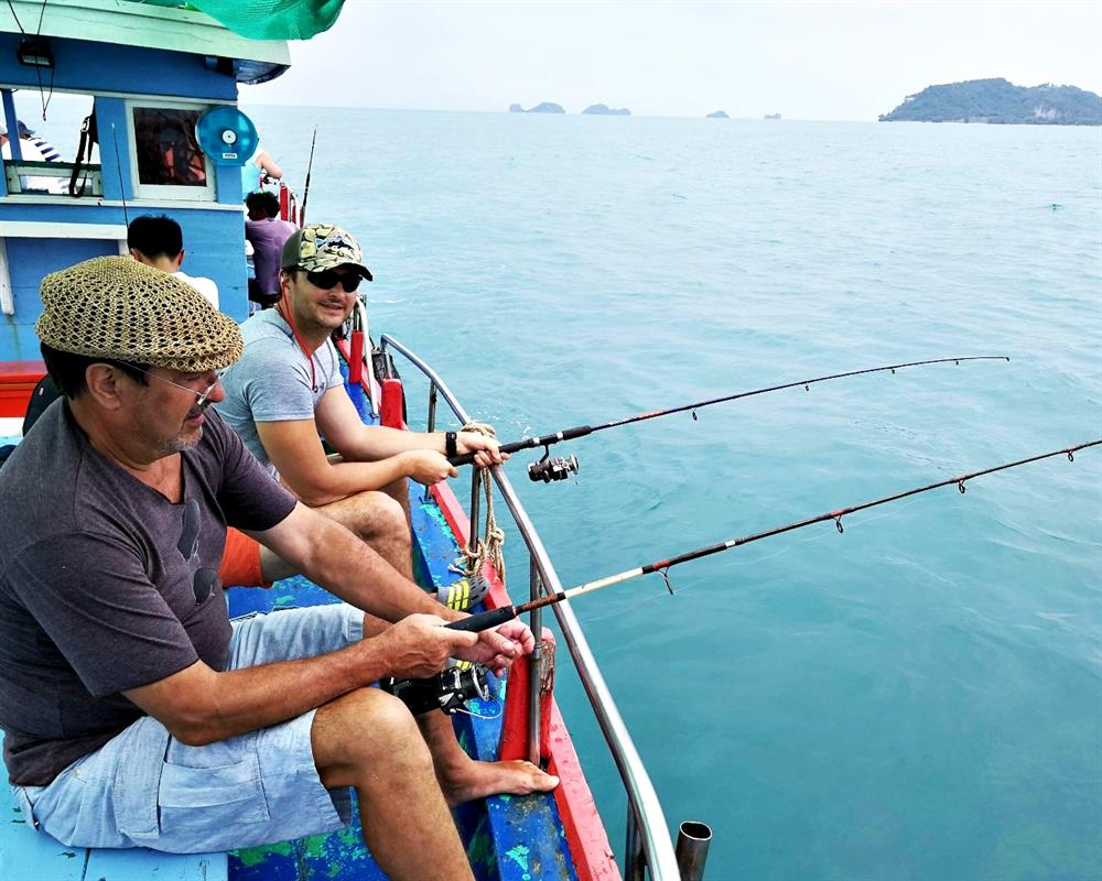 Full-Day Fishing Tour from Koh Samui