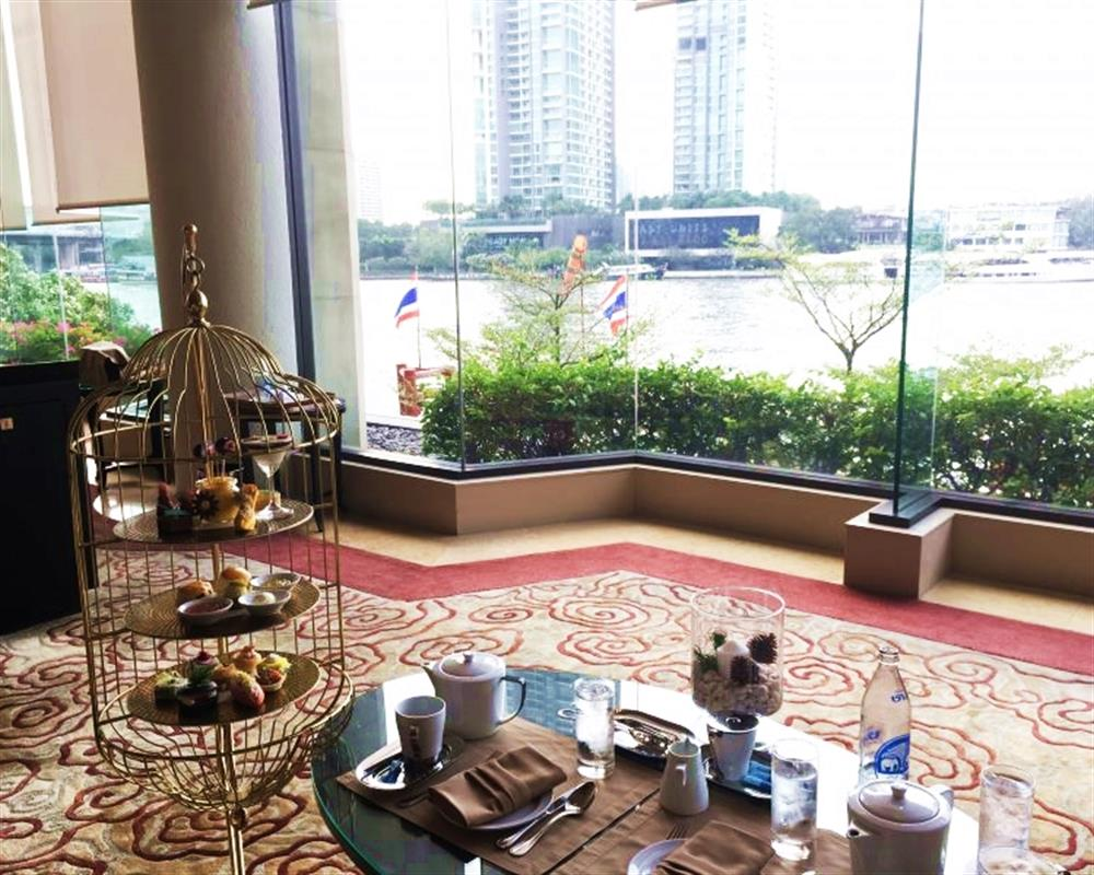 Afternoon Tea Set @ Lobby Lounge at Shangri-La Hotel Bangkok