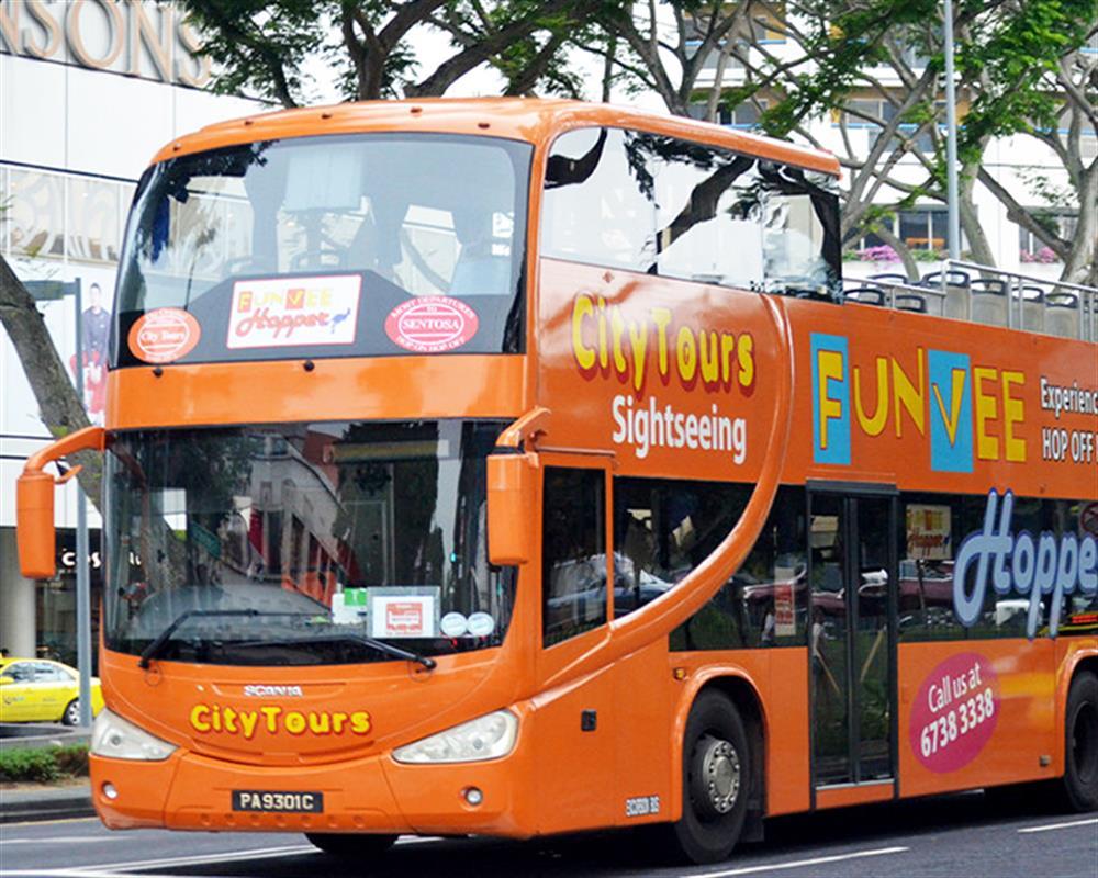 FunVee Open Top Bus 1 Day Hopper Pass