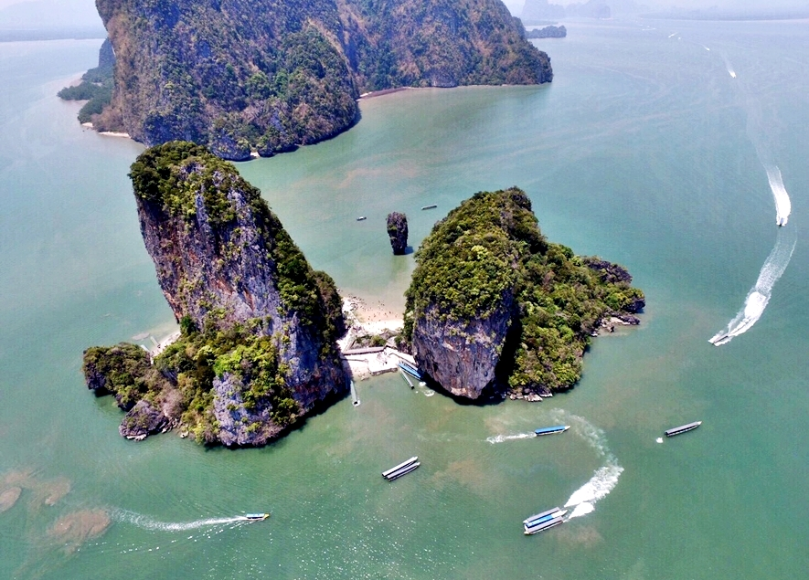 5 in 1 James Bond Island By Big Boat 3 Canoeing