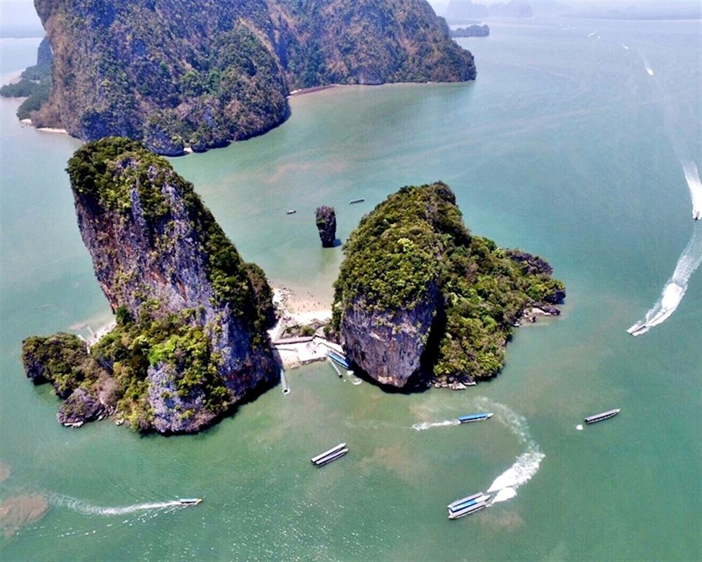 4 in 1 James Bond Island By Big Boat 3 Canoeing