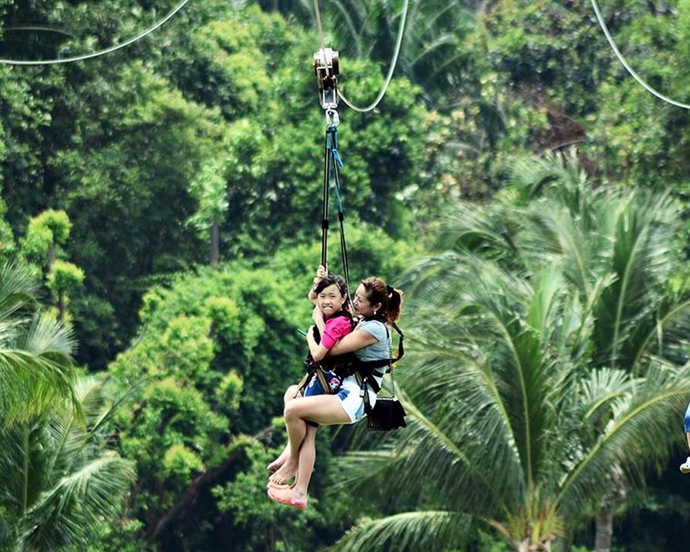 MegaZip Climb and Jump Singapore