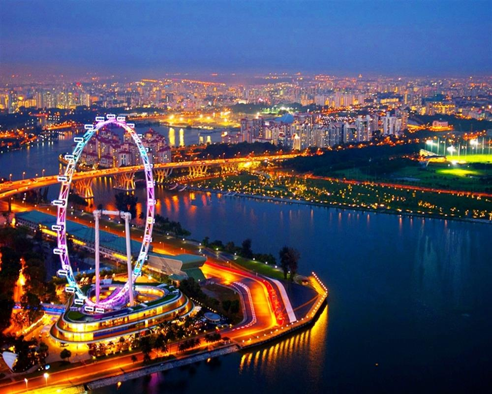 Singapore Flyer Flight