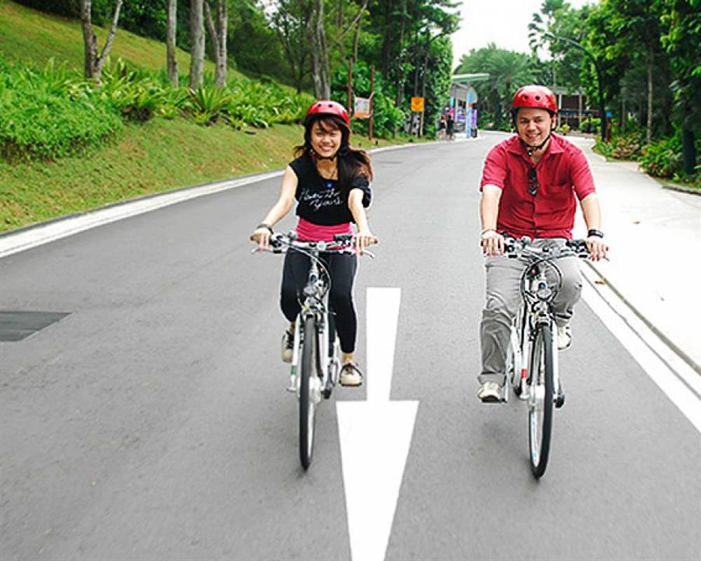 Admission Sentosa Bicycle Rental 2 hours Singapore