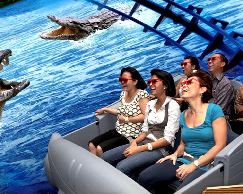 Admission Sentosa 4D Adventureland 3in1 Pass Singapore