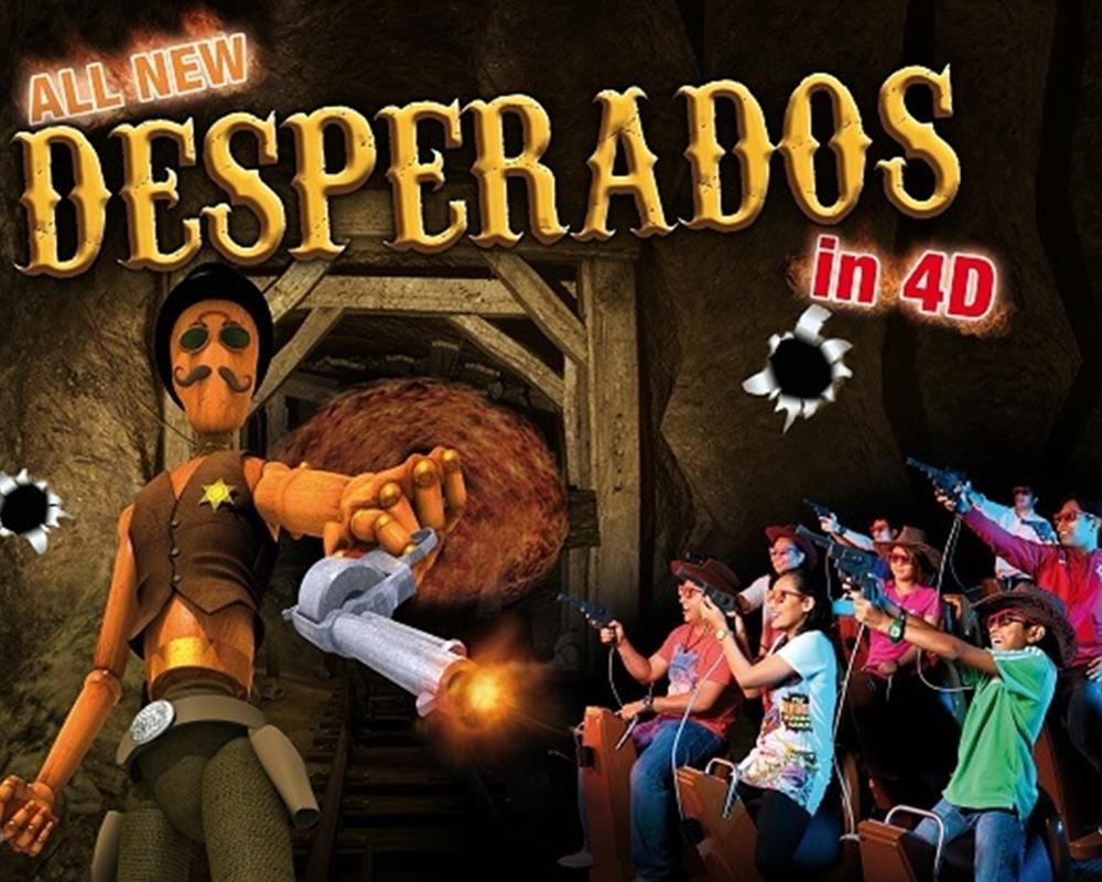 Admission Sentosa 4D AdventureLand 4in1 Pass Sinpapore