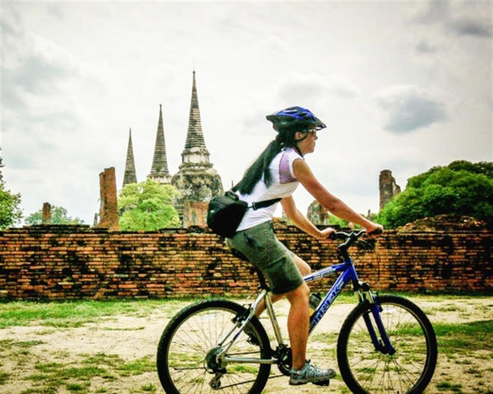 Ayutthaya Highlights Cycling Tour