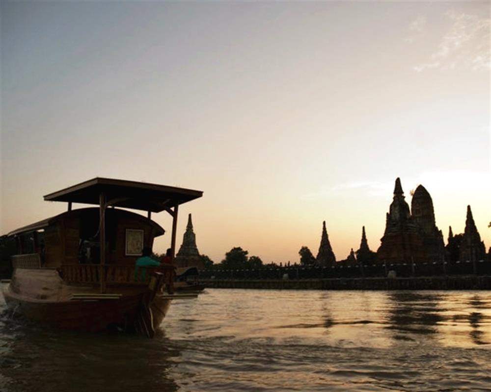 Rice Barge Cruise Tour from Ayutthaya