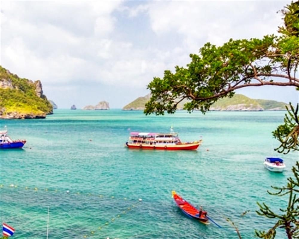 Ang Thong National Marine Park Tour by Big Boat