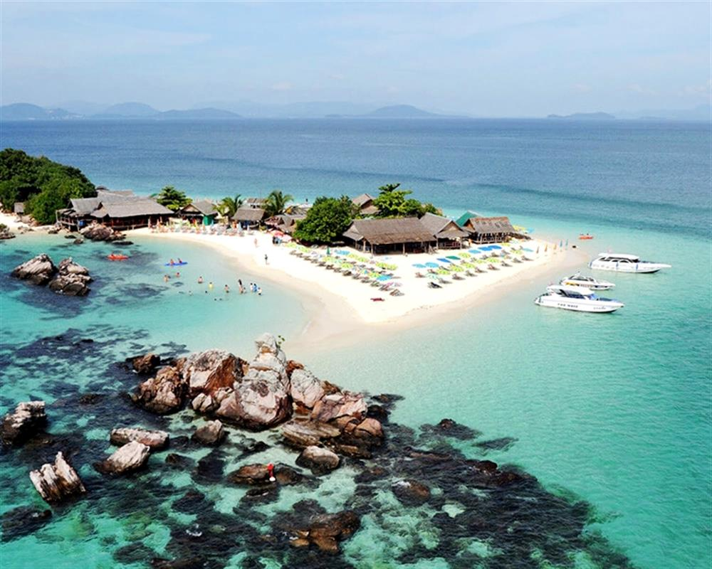 4 Island YAO YAI Island and 3 Khai Island Tour by Speedboat